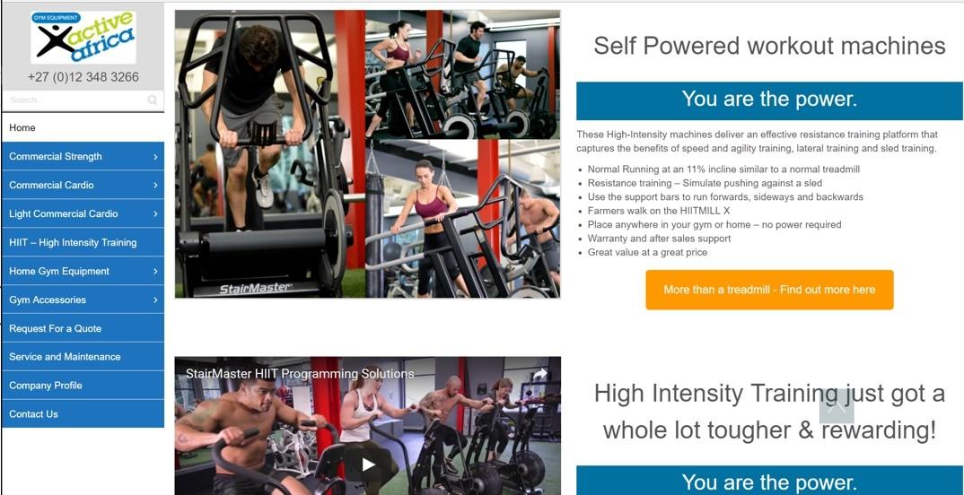 Active Africa Gym Equipment